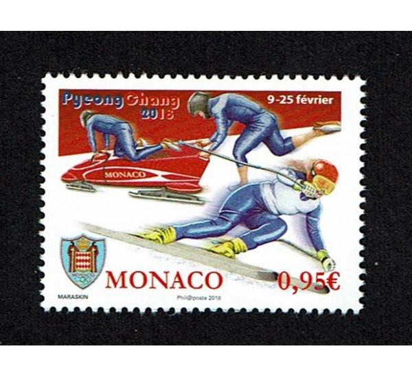 2018 Monaco Giochi Olimpici Invernali Pyeongchang