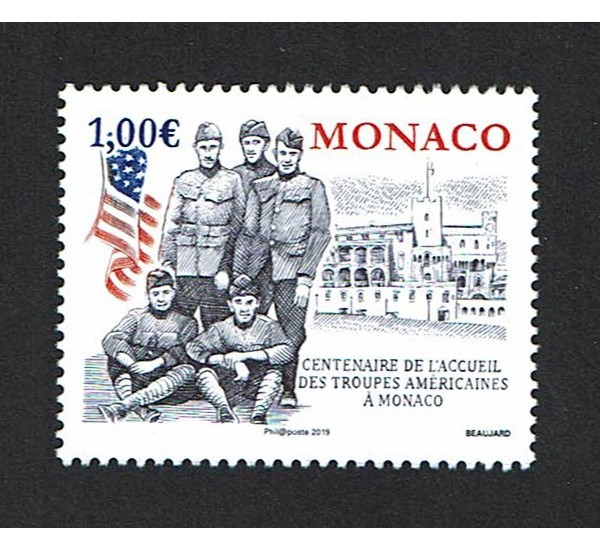 2019 Monaco militari truppe americane
