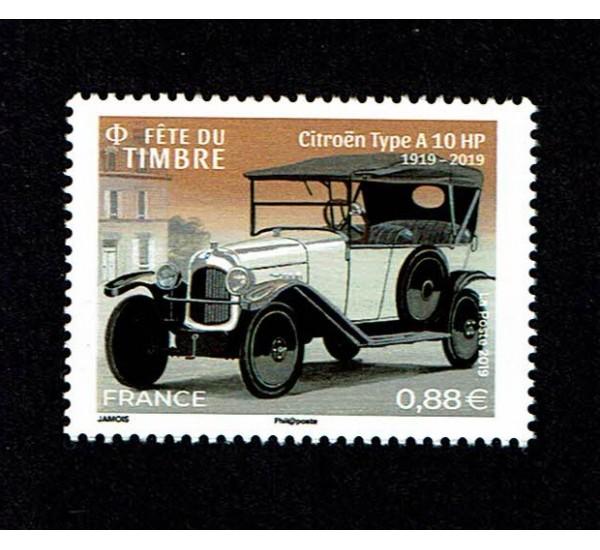 2019 Francia Citroen Type A10 HP - Festa del francobollo