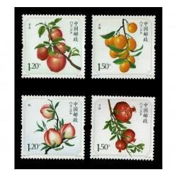 2014 Cina serie tematica Frutta