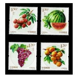 2016 Cina serie tematica Frutta