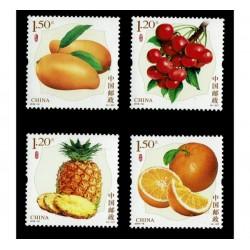 2018 Cina serie tematica Frutta
