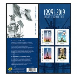 2019 Francia 130° anniversario Torre Eiffel