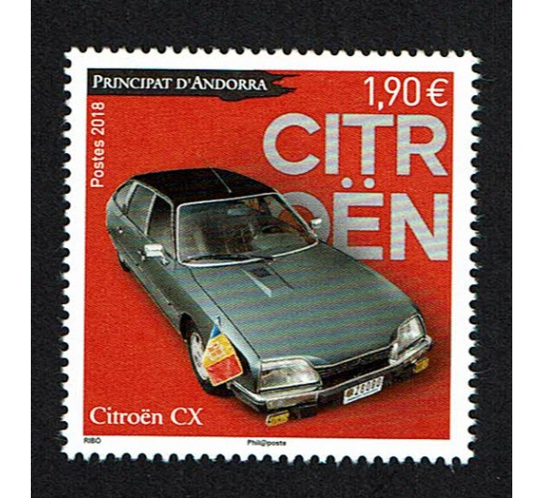 2018 Principato di Andorra Citroën CX