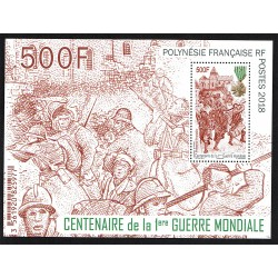 2019 Polinesia francese WWI I° Guerra Mondiale