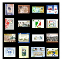 Repubblica 2006/2015 lotto 16 foglietti nuovi MNH/**
