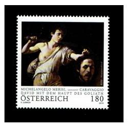 2019 Austria Caravaggio - Davide e Golia