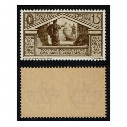 1930 Bimillenario nascita di Virgilio 15c Sas.282 nuovo MNH/**