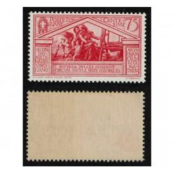 1930 Bimillenario nascita di Virgilio 75c Sas.287 nuovo MNH/**