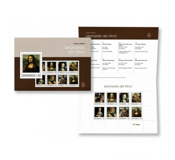 2019 Austria 500° Leonardo da Vinci Presentation Pack
