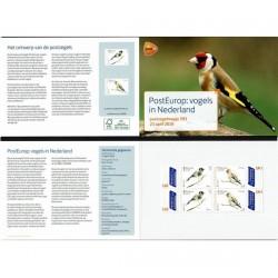 2019 Olanda emissione Europa Uccelli Presentation Pack