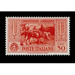1932 Giuseppe Garibaldi 30cent Sas.318 MNH/**