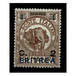 1924 Colonie Somalia sovrastampato per Eritrea Sas.80