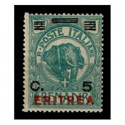 1924 Colonie Somalia sovrastampato per Eritrea Sas.81