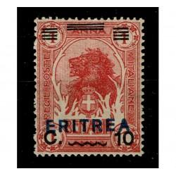 1924 Colonie Somalia sovrastampato per Eritrea Sas.82