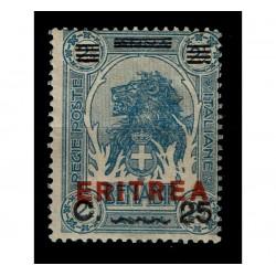 1924 Colonie Somalia sovrastampato per Eritrea Sas.84