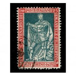 1928 Emanuele Filiberto 25cent Sas.231 nuovo usato