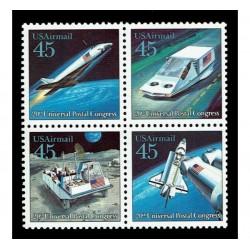 1989 Stati Uniti 20° congresso UPU MNH/**