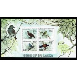 1983 Sri Lanka tematica uccelli foglietto MNH/**