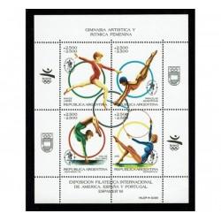 1991 Argentina Espamer 91 - ginnastica artistica