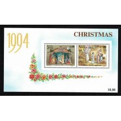 1994 Sri Lanka tematica Natale foglietto MNH/**