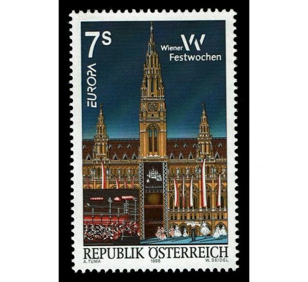 1998 Austria emissione Europa festival nazionali