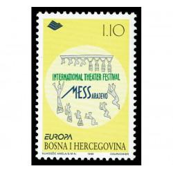 1998 Bosnia Erzegovina emissione Europa festival nazionali