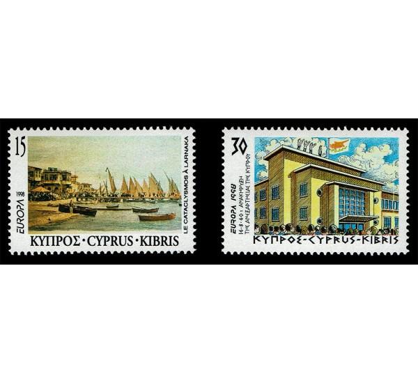 1998 Cipro emissione Europa festival nazionali