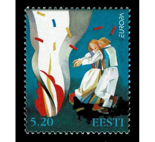 1998 Estonia emissione Europa festival nazionali