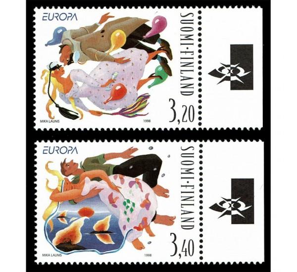 1998 Finlandia emissione Europa festival nazionali