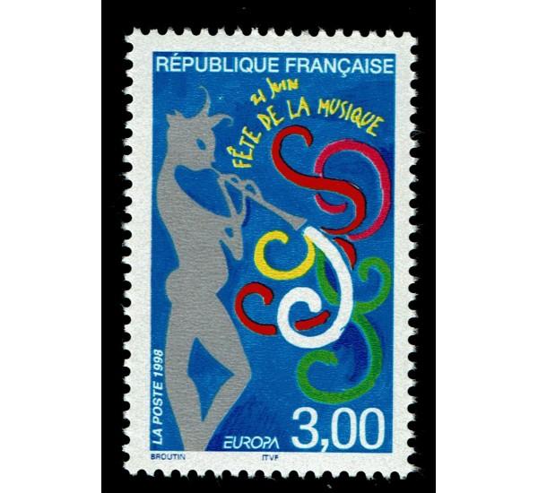 1998 Francia emissione Europa festival nazionali