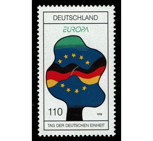 1998 Germania emissione Europa festival nazionali