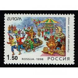 1998 Russia emissione Europa festival nazionali