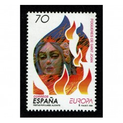 1998 Spagna emissione Europa festival nazionali