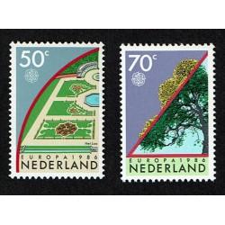 1986 Olanda emissione Europa la Natura