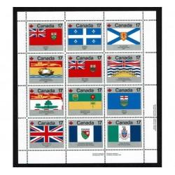 1979 Canada Day - Bandiere regionali
