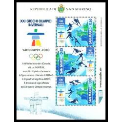 2010 San Marino Giochi olimpici invernali 2010 Vancouver