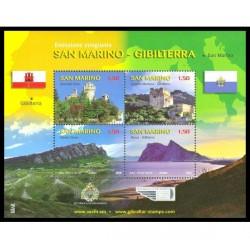2010 San Marino Emissione congiunta Gibilterra