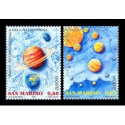 2009 San Marino Emissione Europa Astronomia
