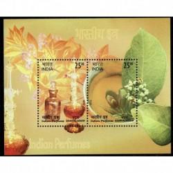 2019 India foglietto al profumo Sandalo - Unusual Stamps
