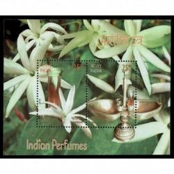 2019 India foglietto al profumo Gelsomino - Unusual Stamps