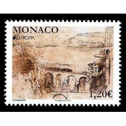 2018 Monaco Emissione Europa i Ponti