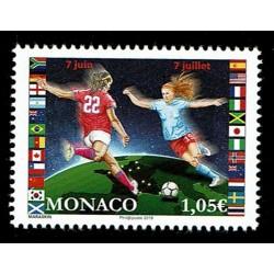2019 Monaco Mondiali Calcio Femminile MNH/**