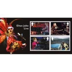 2019 Gran Bretagna Francobolli Elton Johon - Foglietto