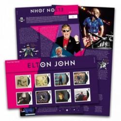 2019 Gran Bretagna Francobolli Elton Johon - Presentation Pack
