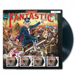 2019 Gran Bretagna Elton Johon minifoglio Captain Fantastic