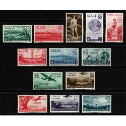 1936 Regno Bimillenario nascita di Orazio con Aerea MNH/** 13val.