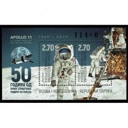 2019 Bosnia 50° anniversario primo uomo sulla Luna