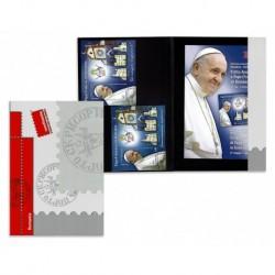 2019 Romania Folder Congiunta Vaticano visita del Papa