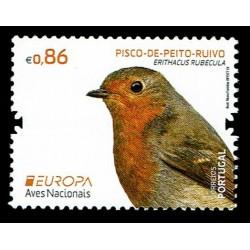 2019 Portogallo Emissione Europa Uccelli